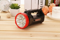 9LED portable flashlight two stalls charge maximum range of ...