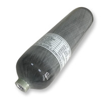 AC103 Acecare 3L CE HPA Aire Comprimido 30 MPa de fibra de carbono del cilindro de gas PCP Paintball Para Tiro al blanco / Caza de China Directa
