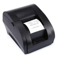 Ursprünglicher ZJ-5890K Portable 58mm USB-Positions-Empfangs-Thermal-Drucker mit dem USB-Port lärmarm für Restaurant-Supermarkt-EU-STECKER