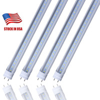 Stock in USA - 4ft T8 LED Tube Lights 18W 20W 22W SMD2835 4 ...