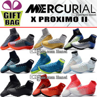 Original MercurialX Proximo II TF IC Indoor Soccer Cleats Tu...