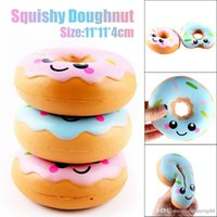 Squishies toy 11cm Lovely Donut Cream Profumato Squishy Slow Rising Spremere anti stress peluche divertenti gadget kawaii squishies oyuncak
