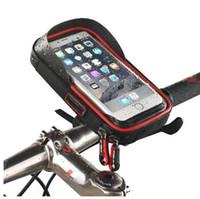 6 بوصة دراجة دراجة ماء حامل الهاتف الخليوي حقيبة دراجة نارية جبل لسامسونج غالاكسي s8 زائد / اي فون 7 زائد / LG V20 / ماتي 9