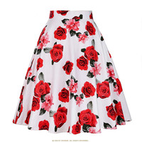 Cheap Sexy Skirts Womens 2018 Vintage Short Tutu Skirt Flora...