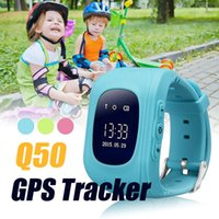 Q50 Kid Smart Watch Bluetooth GPS + LBS Smart Watches SOS Sa...