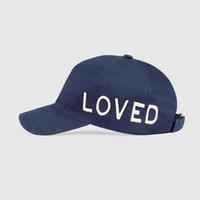 2020 New Retro Love Ball Ball Cap Plaid Ricamo Cappello di ricamo di alta qualità Cappello da baseball puro puro cappello da papà regolabile Cappello da papà Tempo libero Golf Cap