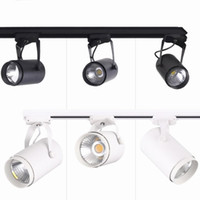 High Quality LED Indoor Lighting Rail Lamps 30W COB LED Trac...
