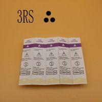 50 adet / kutu Sterilize Kartuş İğneler 600D-G 3RS Kaş Kalıcı Makyaj Kalem Makinesi için Kaş Dövme İğneler İpuçları Kaş Dudak