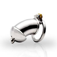 Новый из нержавеющей стали целомудрие устройство для мужчин целомудрие клетка со съемным уретры звуки мужской шипами кольцо