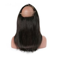Lace Frontal 360 Straight Closure Nature Color Brazilian Rem...