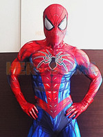 2018 New Spiderman Costume 3D Print Spandex Cosplay Fullbody...