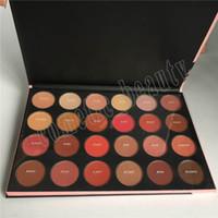 ¡Alta calidad! El más nuevo 24G Mate 24 Colores Powder Eyeshadow Paleta Maquillaje Paletas de Sombra de Ojos Envío Gratis.