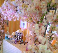 1 Meter Long Artificial Simulation Cherry Blossom Flower Bou...