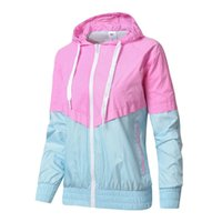 Spring Autumn Skin Windbreaker Jackets Female Models Korean ...