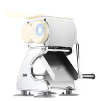 Beijamei Hohe Qualität 60kg / h Edelstahl Fleisch Slicer Schneidemaschine Haushalt / Kommerziellen Fleisch Schneiden Zerkleinerungsmaschine
