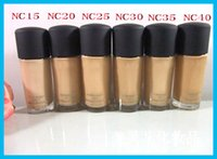 Makeup Foundation Makeup STUDIO FIX FLUID Foundation Flüssigkeit 30ML NC15 NC20 NC25 NC30 NC35 NC40