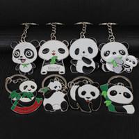 Güzel Panda Anahtarlık Anahtarlık Sırt Çantası Kolye Toptan Anahtar Tutucu Ucuz Düğün Promosyon Hediye