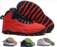 New Mens Basketball Shoes Womens Black 10s X Im Back Nyc Nic...