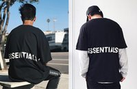 Hot Letter Printed T shirts for Men Loose Street Style Short...