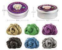 Diy Magnetic Slime Polymer Clay Inteligente De Borracha Ímã Plasticina Lama Mágica Mão Putty Doh Bounce Brinquedos Caçoa o Presente Da Massa de Bunda