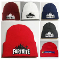 Winter Fortnite Battle Knitted Hat Teenager cap Beanie Embro...