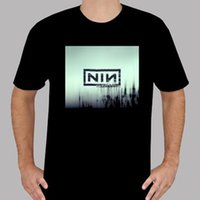 NIN Nine Inch Nails Com Álbum de Dentes Dave Grohl t-shirt
