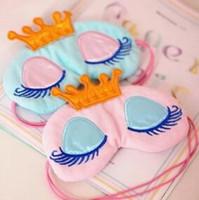 Taç Uzun Kirpik Havalandırmak Uyku Maskeleri Uyku Güzellik Gölgelendirme Uyku Siperliği Görüş Bakım Sağlık Güzellik Ücretsiz-nakliye