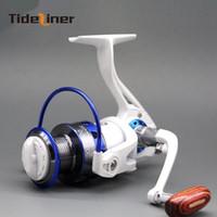 Tideliner fiação carretel de pesca GF1000-6000 alimentador engrenagem da carpa roda relação de pesca 5.2: 1 rolamentos de esferas 12BB pesca-tackle