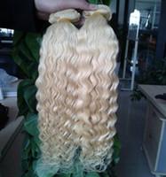 Brasilianische Wasserwelle 2 Bundles Echthaar Bundles 100% Echthaarwebart Bundles Brasilianische Haarverlängerungen