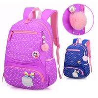 Gcwwlfl 2021 princesa encantadora bolsa de puntos de la bolsa para los niños de la escuela Knapsack Mochila primaria New Girls Mochilas Niños Bolsas Csquk