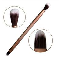 En gros Nouvelle Vente Chaude 16pcs Maquillage Des Yeux Fondation Ombre À Paupières Mélange Double Brosse Stylo Livraison Gratuite