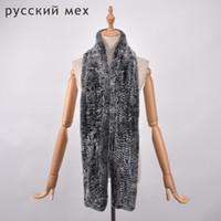 длинные 170 см натуральный мех шарф женщины мужчины Рекс кролик мех шарф натуральный длинный шарф теплый мех глушитель