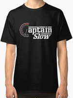 Top Gear - James May - Camiseta de Captain Slow para hombre Negro Divertido envío unisex casual camiseta regalo