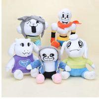 Lidstellingen Pluche Speelgoed Sans Papyrus Toriel Zachte Gevulde Doll Toy Game Figures 22-30 cm 5styles