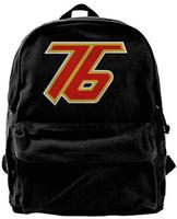 32a66e6e222c Soldier 76 Logo Fashion Canvas Shoulder Backpack For Men   Women Teens  College Travel Daypack designer backpack duffle bag Black