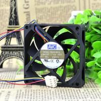 AVC 7015 için top PWM dört-pin fan CPU fan 7 CM AMD akıllı hız kontrolü DE07015B12L