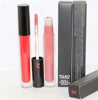 Nova chegada Maquiagem Líquido Lipstick Lipgloss 12 cores mistas Frete grátis 12 pçs / lote
