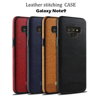 Business Stitching Leather TPU Soft Full Protection Hybrid C...