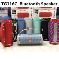TG116C Double Horn Cloth Net Bluetooth Wireless Speaker Mini...