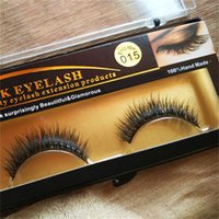 False Eyelashes Handmade Natural Long Thick Mink Eyelashes S...