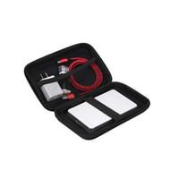 """3.5 بوصة إيفا صدمات القرص الصلب حمل حقيبة الحقيبة حقيبة 3.5 """"الخارجية HDD قوة البنك كابل حقيبة السفر حقيبة اليد"""