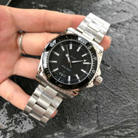 Luxury watch DIVE Watch SAPPHIRE glass ETA Swiss quartz Movement man women black wristwatch fashion 40mm gu wristwatch