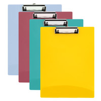 4 Colors Random A4 Writing Pad File Folder Office Clipboard ...