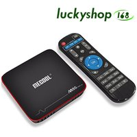 Amlogic S905W Android 7.1 TV BOX da 2 GB da 16 GB MECOOL M8S PRO W Streaming Box Supporto 4K H.265 Wifi Smart IPTV Box