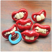 Food Grade Silicone Funny Baby Pacifiers Dummy Novelty Nippl...