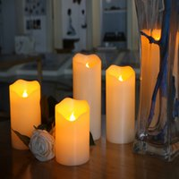 Whosale New Battery Operated LED Candle Light Simulation Par...