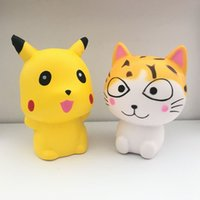 2 pz / set Squishy Kawaii Pet mon cat Lento Aumento Profumato Squeeze Toy Collection Cure Per Allevia Lo Stress Ansia Decorazione Della Casa Regali di T ...