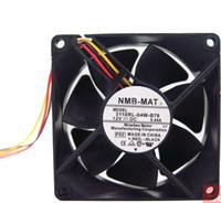 Venta al por mayor (NMB 3110RL-04W-B79 12V 0.44A 80 * 80 * 25) (NMB 4020 24V 0.11A 1608KL-05W-B59) (NMB 4715VL-05W-B76 12038 120 * 120 * 38 mm) ventilador de refrigeración