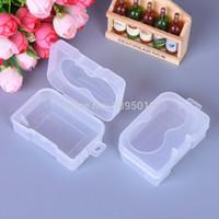 투명 휴대용 플라스틱 콘택트 렌즈 케이스 여행 미니 스토리지 박스 콘택트 렌즈 상자 F1130