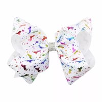 Rhinestone Unicorn Jojo Bows Pink Unicorn Cheer Bow Jojo Siw...
